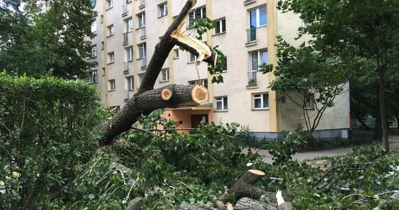 Cztery osoby zginęły i 28 zostało rannych, w tym pięciu strażaków – to najnowszy, tragiczny bilans nawałnic, które przetoczyły się wczoraj nad Polską. 100 tysięcy odbiorców w całym kraju nadal jest bez prądu. W związku z burzami strażacy interweniowali ponad 11,5 tysiąca razy.