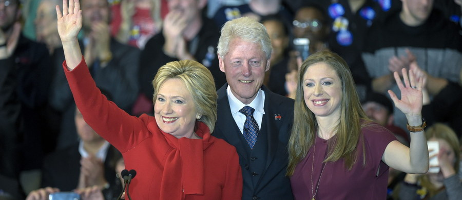 Chelsea Clinton - córka byłego prezydenta USA i kandydującej w tegorocznych wyborach prezydenckich byłej szefowej amerykańskiej dyplomacji - poinformowała na swoim koncie na Twitterze, że po raz drugi została mamą! Rodzice nadali synkowi imię Aidan.