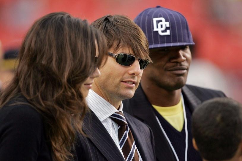 """Gwiazda reality-show """"Real Housewives of Atlanta"""" - Claudia Jordan - potwierdziła, że Jamie Foxx i Katie Holmes są parą."""