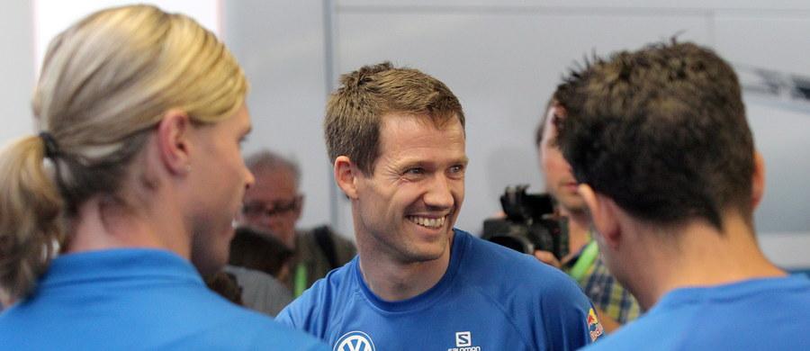 Obrońca tytułu Francuz Sebastien Ogier (VW Polo WRC) był najszybszy na odcinku testowym Rajdu Polski, który jest 7. rundą mistrzostw świata. Trasa testowego miała 3,4 km, Ogier przejechał ją cztery razy.