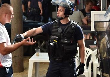 Polscy kibole starli się z policją w Marsylii. W ruch poszedł gaz łzawiący