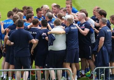 Euro 2016: Prezydent Islandii na ćwierćfinale w sektorze kibiców