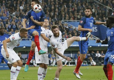 Euro 2016. Francja pokonała Islandię 5:2 po emocjonującym meczu!