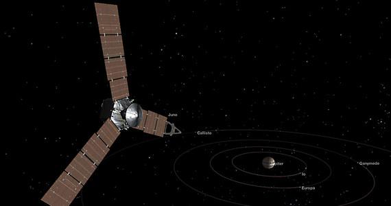 NASA przygotowuje się do kluczowego manewru misji sondy Juno. O godz. 5:18 rano czasu polskiego sonda uruchomi swój główny silnik, by wejść na orbitę największej planety Układu Słonecznego. Nieco wcześniej, pod wpływem siły grawitacji Jowisza, Juno osiągnie rekordową prędkość. Precyzyjnie wykonany manewr hamowania będzie konieczny, by kosztowna sonda nie minęła celu swojej wyprawy i nie poleciała dalej.