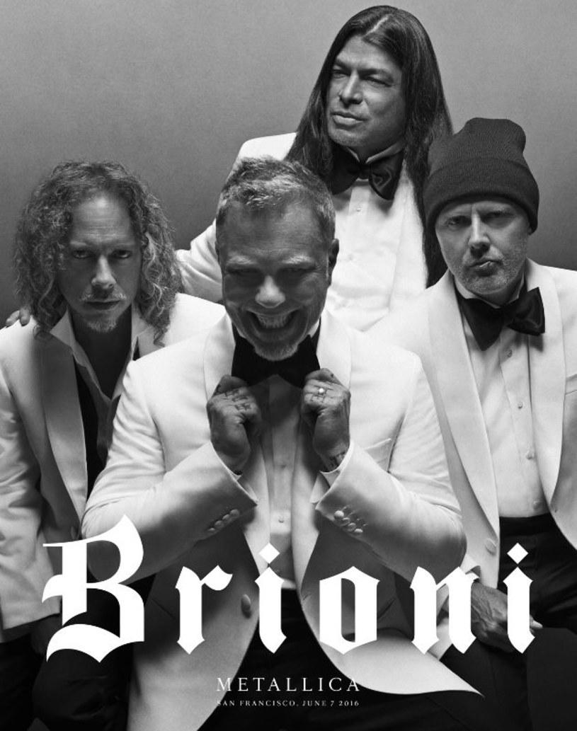 James Hetfield i jego koledzy z zespołu zostali twarzami luksusowej marki odzieżowej.