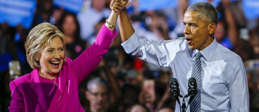 Aż 40 minut trwało przemówienie Baracka Obamy, w którym obecny prezydent USA wychwalał Hillary Clinton. Oboje wystąpili wspólnie na wiecu w Charlotte w Karolinie Północnej. Poparcie Obamy ma zjednoczyć obóz demokratów wokół Clinton, atakowanej przez republikanów.