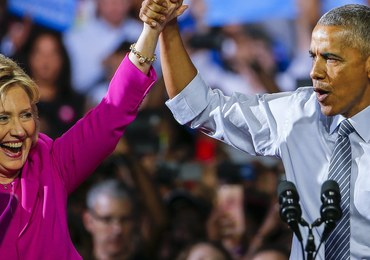 """Bezprecedensowe wystąpienie Baracka Obamy. """"Wierzę w Hillary Clinton"""""""