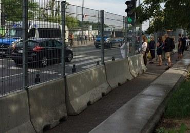 Co kilkadziesiąt metrów policja. Są już utrudnienia przed szczytem NATO w Warszawie