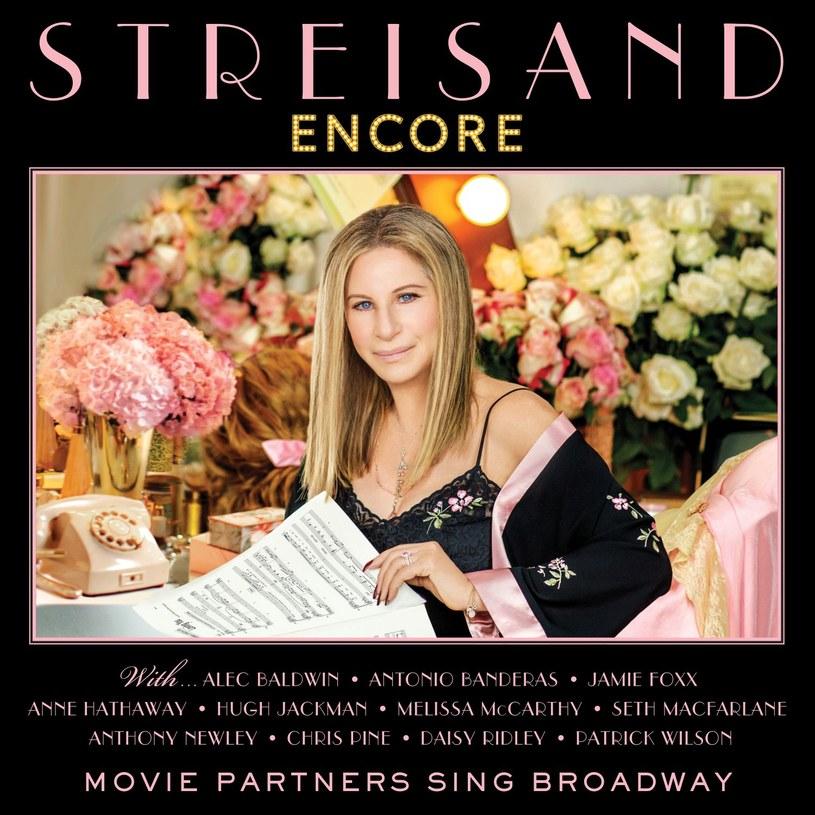 """26 sierpnia ukaże się nowa płyta Barbry Streisand. Na """"Encore: Movie Partners Sing Broadway"""" znajdą się jej duety ze słynnymi aktorami, jak m.in. Antonio Banderasem, Hugh Jackmanem czy Alekiem Baldwinem."""