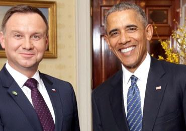 Prezydent Andrzej Duda spotka się w piątek z Barackiem Obamą. Rozmowa potrwa kilkadziesiąt minut