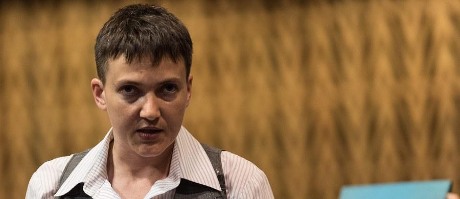 Ukraińska lotniczka i posłanka Nadia Sawczenko złoży w czwartek wizytę w Sejmie. Rano spotka się z wicemarszałkiem Ryszardem Terleckim, a później będzie rozmawiać z posłami zasiadającymi w polsko-ukraińskiej grupie parlamentarnej.