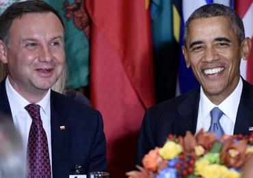 Barack Obama będzie rozmawiał z Andrzejem Dudą m.in. nt. Trybunału Konstytucyjnego