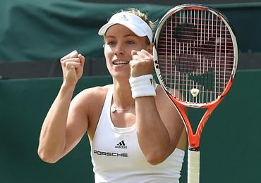 Angelique Kerber w finale Wimbledonu! Polka z niemieckim paszportem zagra z Sereną Williams