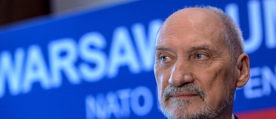 Polska prowadzi rozmowy ws. wsparcia jednego z państw, które będą przewodziły wielonarodowym oddziałom NATO w krajach bałtyckich - powiedział szef MON Antoni Macierewicz. Wyniki rozmów zostaną zapewne ogłoszone w trakcie szczytu NATO w Warszawie - dodał.