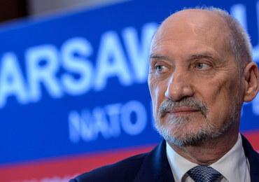 Macierewicz: Prowadzimy rozmowy ws. wysłania wojsk do jednego z krajów bałtyckich