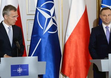 Duda i Stoltenberg: Szczyt NATO w Warszawie pokaże jedność Sojuszu