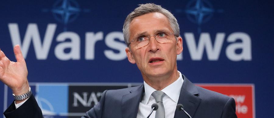 NATO udostępni samoloty wczesnego ostrzegania i rozpoznania AWACS koalicji zwalczającej tzw. Państwo Islamskie; uruchomi też nową misję na Morzu Śródziemnym - zapowiedział w sobotę na szczycie NATO w Warszawie sekretarz generalny Sojuszu Jens Stoltenberg.