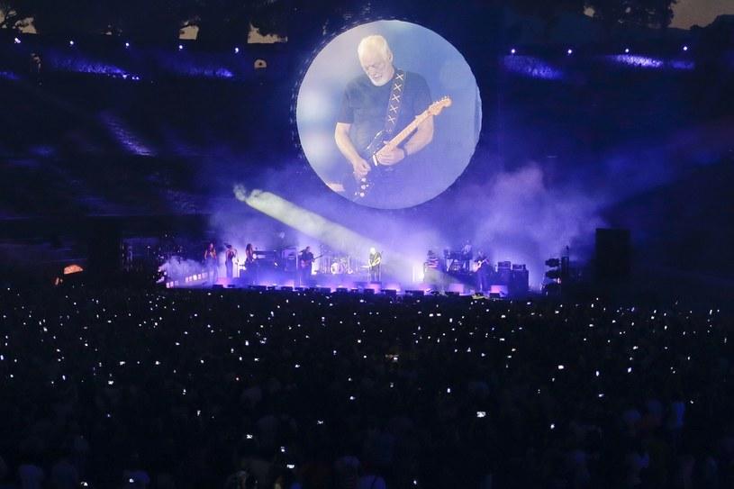 Po 45 latach David Gilmour ponownie wystąpił w słynnym amfiteatrze w Pompejach.