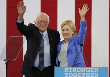 """Bernie Sanders poparł Hillary Clinton. """"Będzie wspaniałym prezydentem"""""""