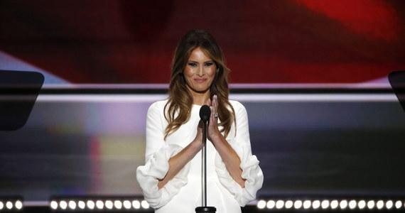 Ameryka zwariowała na punkcie sukienki być może przyszłej pierwszej damy USA. Sukienka, w której Melania Trump wystąpiła podczas pierwszego dnia konwencji republikanów, została natychmiast wykupiona.