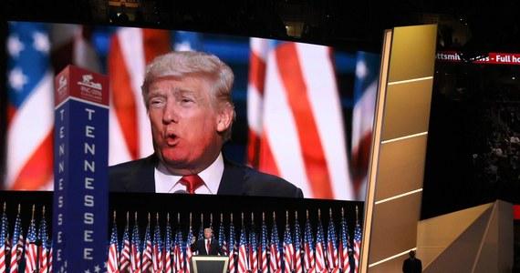 Donald Trump już oficjalnie kandydatem Republikanów na prezydenta Stanów Zjednoczonych. W Cleveland w Ohio obiecał, że Ameryka znów będzie wielka. Wcześniej zaakceptował decyzję delegatów i przyjął nominację.
