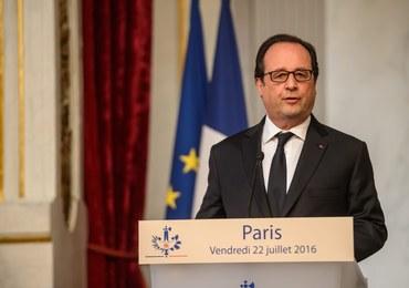 Hollande: Wyślemy artylerię do walki z Państwem Islamskim