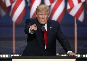 Słupki poparcia dla Donalda Trumpa w... górę