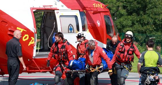 Tragiczny wypadek w Tatrach. Z Orlej Perci w stronę Hali Gąsienicowej spadł około 50-letni turysta. Mężczyzna zginął na miejscu.
