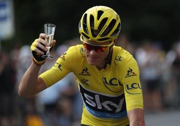 Chris Froome królem Tour de France. Ogromną rolę w sukcesie odegrali koledzy z drużyny