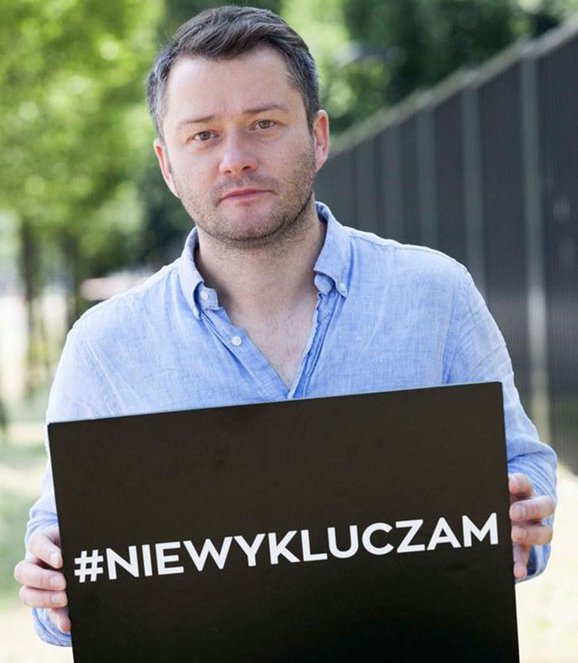 """Premierze filmu """"Nowy świat"""", który trafi na ekrany polskich kin 12 sierpnia, towarzyszy akcja społeczna #NIEWYKLUCZAM."""