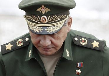 Ukraina ściga ministra obrony narodowej Rosji. Wydano za nim list gończy