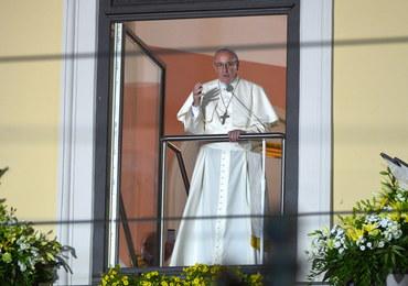 Papież pojawił się w oknie papieskim przy ul. Franciszkańskiej 3