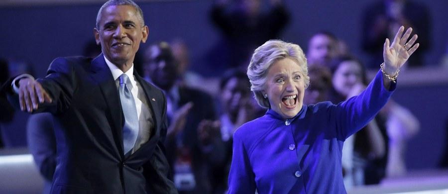 Hillary Clinton będzie najlepszym prezydentem Stanów Zjednoczonych - Barack Obama w nocy długo zachwalał kandydatkę demokratów na prezydenta w nadchodzących wyborach w Stanach Zjednoczonych.