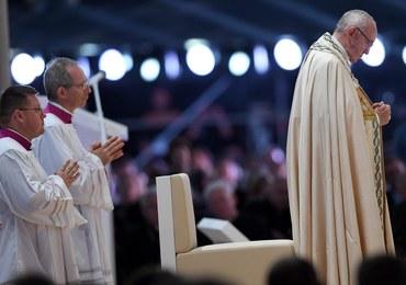 Franciszek do młodych w Brzegach: Jezus nie jest Panem komfortu, bezpieczeństwa i wygody
