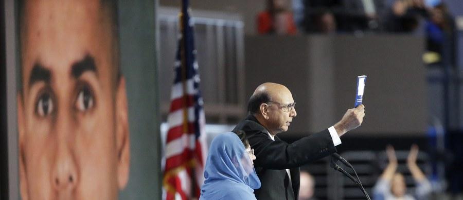 """Republikański senator John McCain skrytykował Donalda Trumpa za jego atak na rodziców poległego w Iraku muzułmańskiego oficera armii USA. """"Choć (Trump) został nominowany, nie ma prawa zniesławiać najlepszych z nas"""" - głosi komunikat McCaina."""