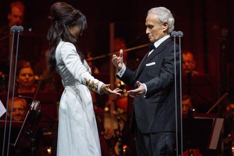 Ponad 4 tysiące ludzi wzięło udział w urodzinowym koncercie Justyny Steczkowskiej, której towarzyszył Jose Carreras.