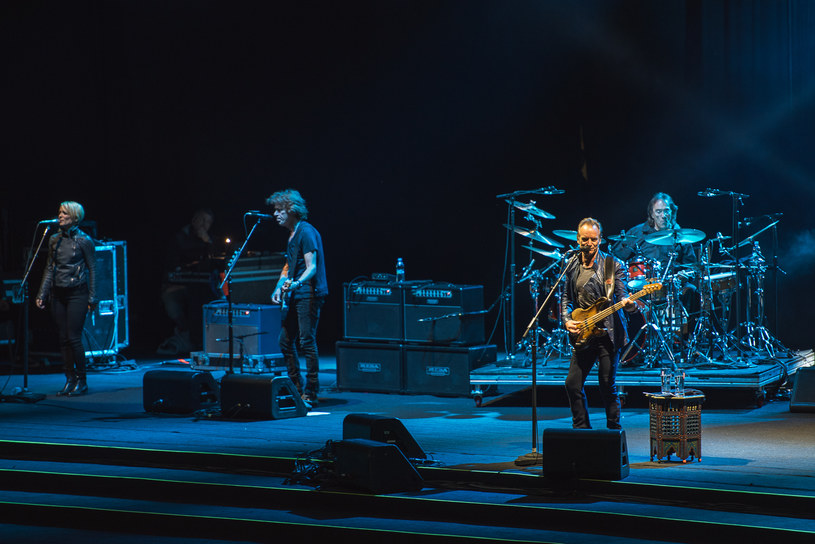 We wtorek 2 sierpnia w wypełnionej Operze Leśnej w Sopocie wystąpił Sting.