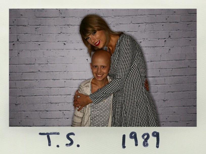 11-letnia fanka Taylor Swift, którą amerykańska wokalistka odwiedziła w październiku 2015 roku, zmarła na raka.