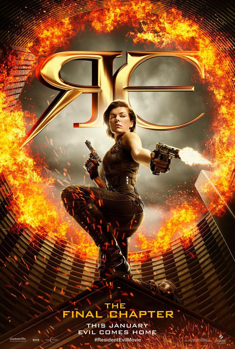"""To będzie widowiskowe pożegnanie z serią, która na całym świecie zarobiła ponad miliard dolarów. Film o znaczącym tytule """"Resident Evil: Ostatni rozdział"""" zobaczymy w kinach już w 27 stycznia 2017 roku, tymczasem do sieci trafił plakat promujący produkcję oraz premierowy zwiastun."""