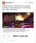 USA: Wybuch pod Waszyngtonem