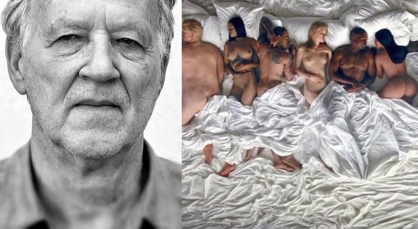 """Najgłośniejszy teledysk ostatnich tygodni - """"Famous"""" Kanye'a Westa - obejrzał także Werner Herzog. Niemiecki reżyser pokusił się o rzeczową analizę kontrowersyjnego dzieła, które odnotowało na YouTubie ponad 13 milionów odtworzeń."""