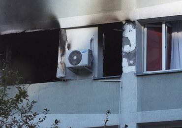 Nie żyje mężczyzna, który został ranny w piątkowym pożarze bloku w Warszawie
