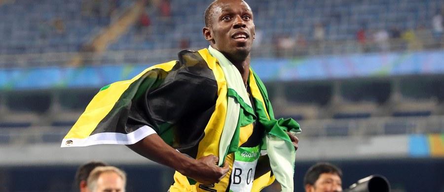 """Usain Bolt zdobył w piątek w Rio de Janeiro swój dziewiąty złoty medal igrzysk. Został trzecim lekkoatletą, który może się pochwalić taką liczbą olimpijskich krążków z najcenniejszego kruszcu. """"Jestem największy"""" - powiedział po triumfie Jamajki w sztafecie 4x100 m."""