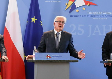 Szefowie MSZ państw Trójkąta Weimarskiego: Chcemy wzmocnić Unię Europejską