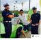 Zdjęcie to opublikował na instagramie. Z takim oto komentarzem: #pozdrowienia#dla#panow#policjantow#z#grudziadza#nie#bylo#za#szybko#bardzo