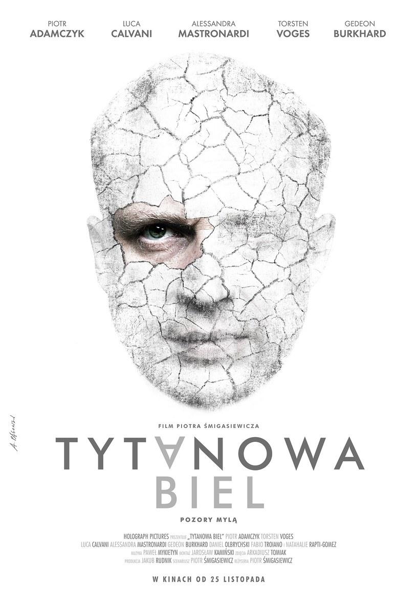 """Andrzej Pągowski, wybitny artysta grafik, zaprojektował plakat do filmu Piotra Śmigasiewicza """"Tytanowa biel"""". Obraz trafi do polskich kin 25 listopada."""