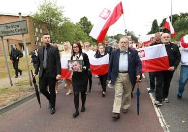 Zabójstwo Polaka w Harlow. Ulicami miasta przeszedł marsz milczenia