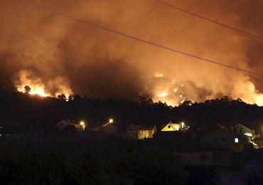 Pożar lasu w pobliżu Alicante. Ewakuowano 1000 osób
