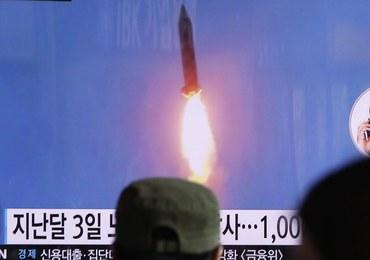Korea Północna wystrzeliła trzy pociski balistyczne średniego zasięgu