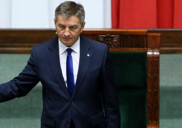 Marek Kuchciński zostaje na stanowisku marszałka Sejmu. Wniosek PO przepadł
